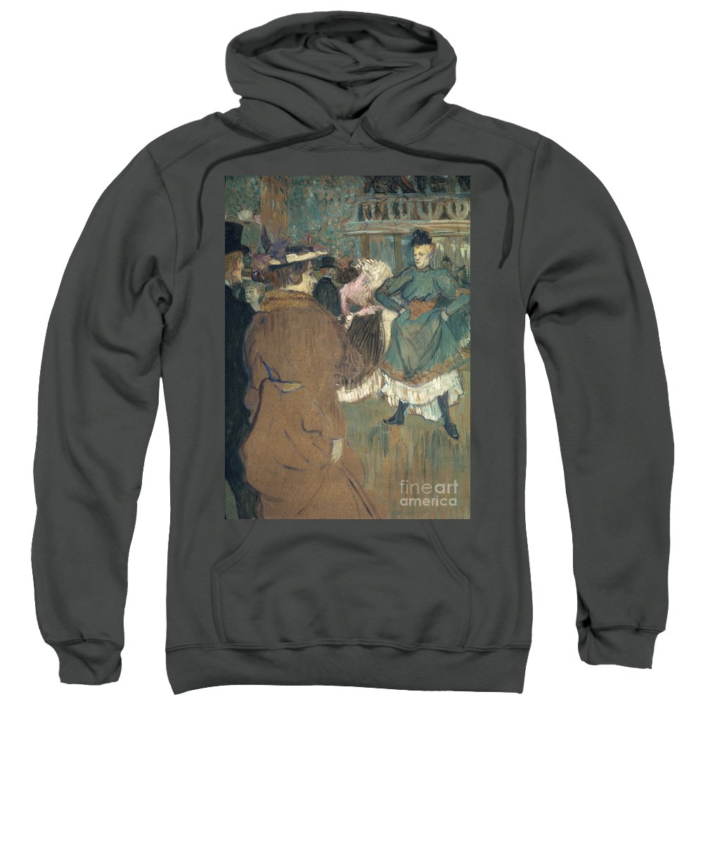 1892 Sweatshirt featuring the photograph Toulouse-lautrec, 1892 by Granger