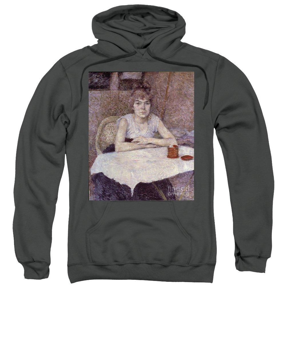 1889 Sweatshirt featuring the photograph Toulouse-lautrec: Powder by Granger