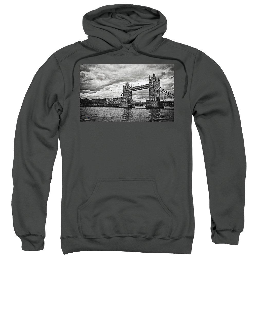 Bridge Sweatshirt featuring the photograph Tower Bridge by Nicola Maria Mietta