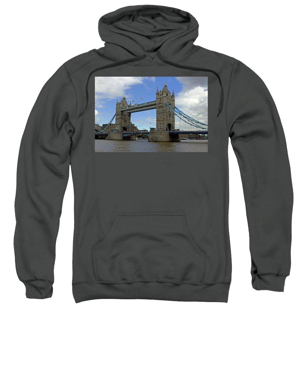 Tower Bridge Sweatshirt featuring the photograph Tower Bridge by Tony Murtagh