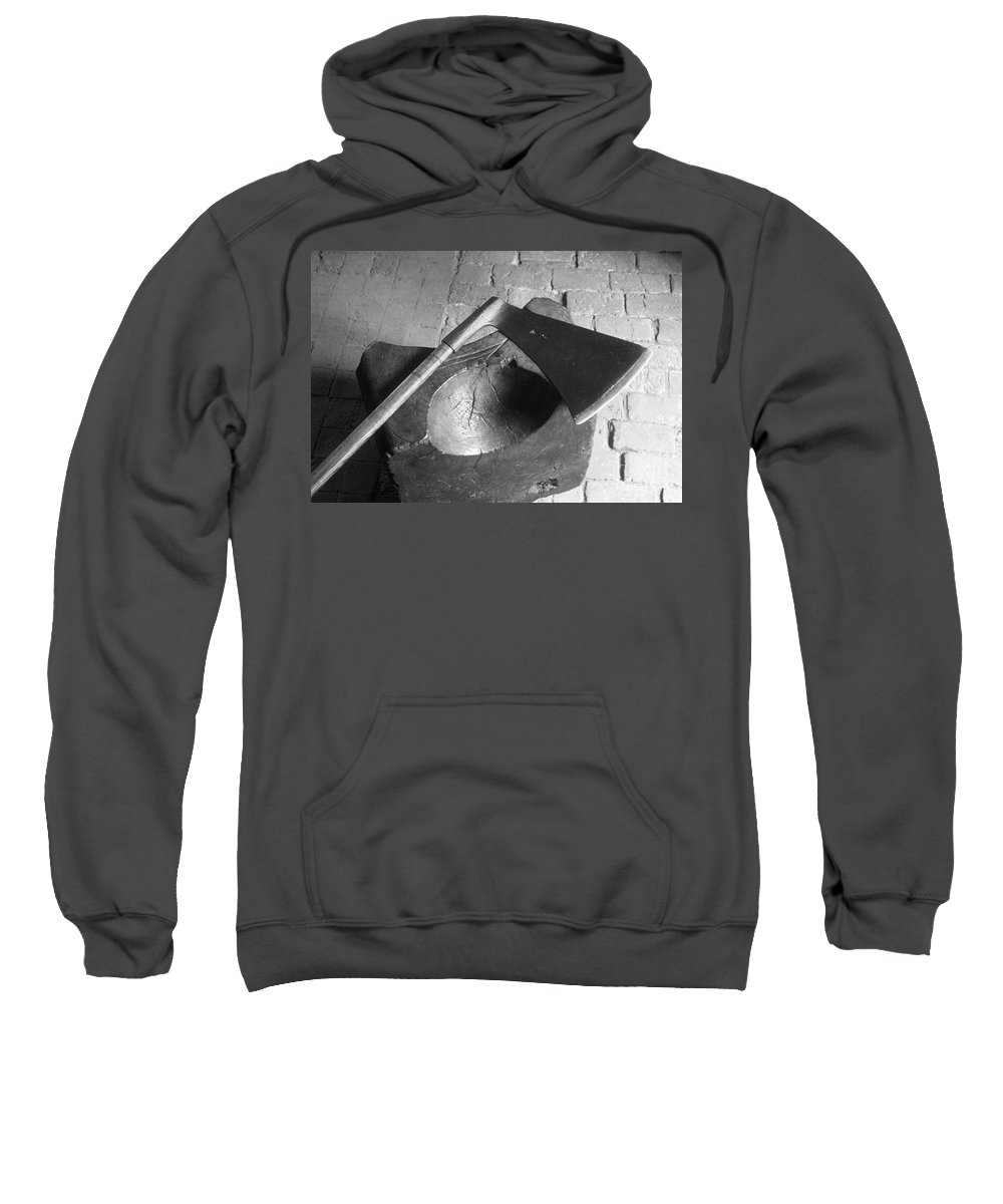 1542 Sweatshirt featuring the photograph Tower: Execution Block by Granger