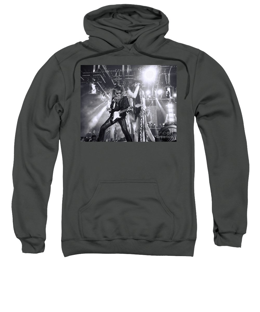 Steven Tyler Sweatshirt featuring the photograph Toxic Twins by Traci Cottingham
