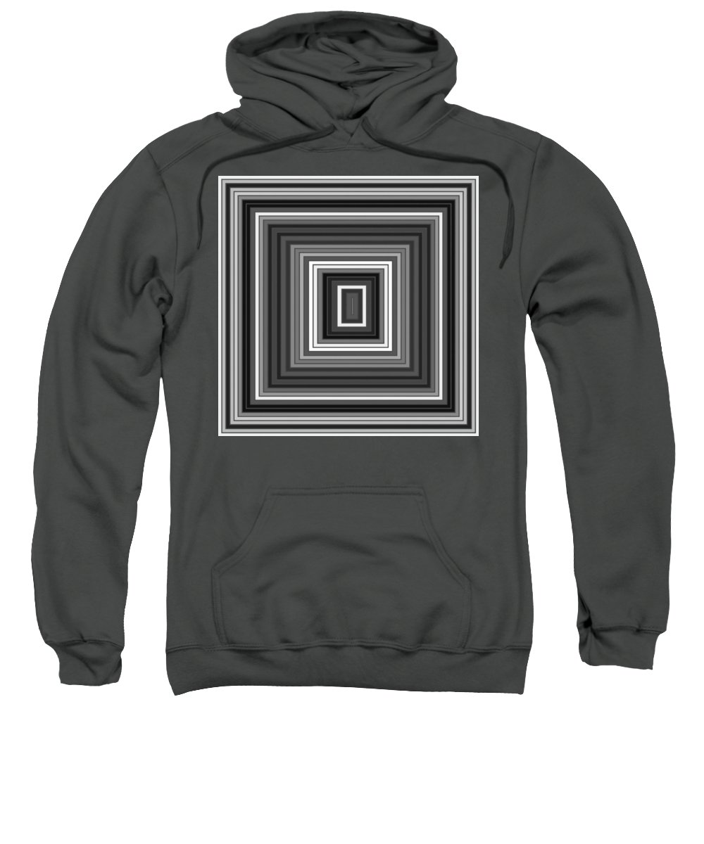 Abstract Sweatshirt featuring the digital art Tp.1.1 by Gareth Lewis