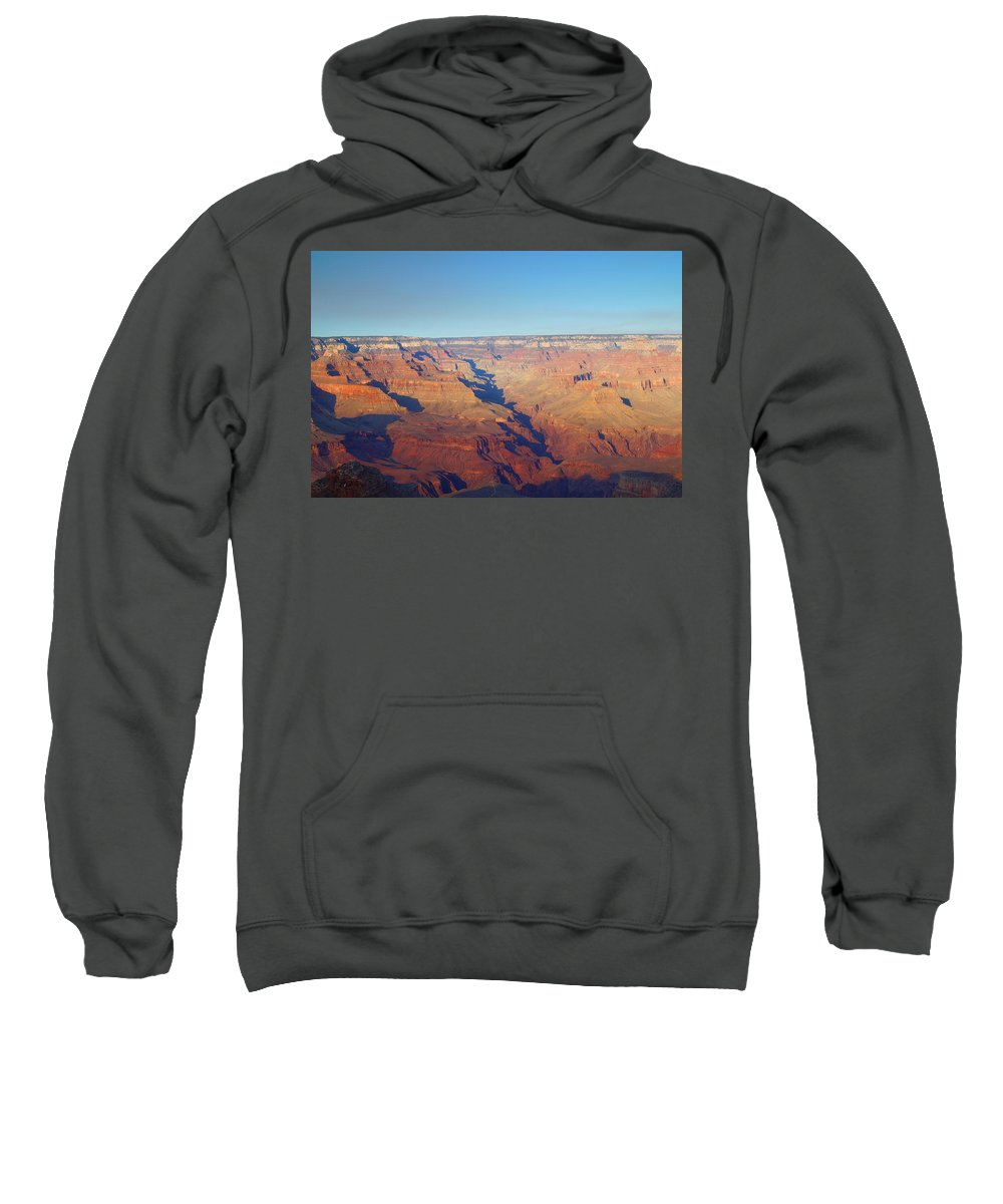 Autumn Sweatshirt featuring the photograph Trailview Overlook Iv by Beth Collins