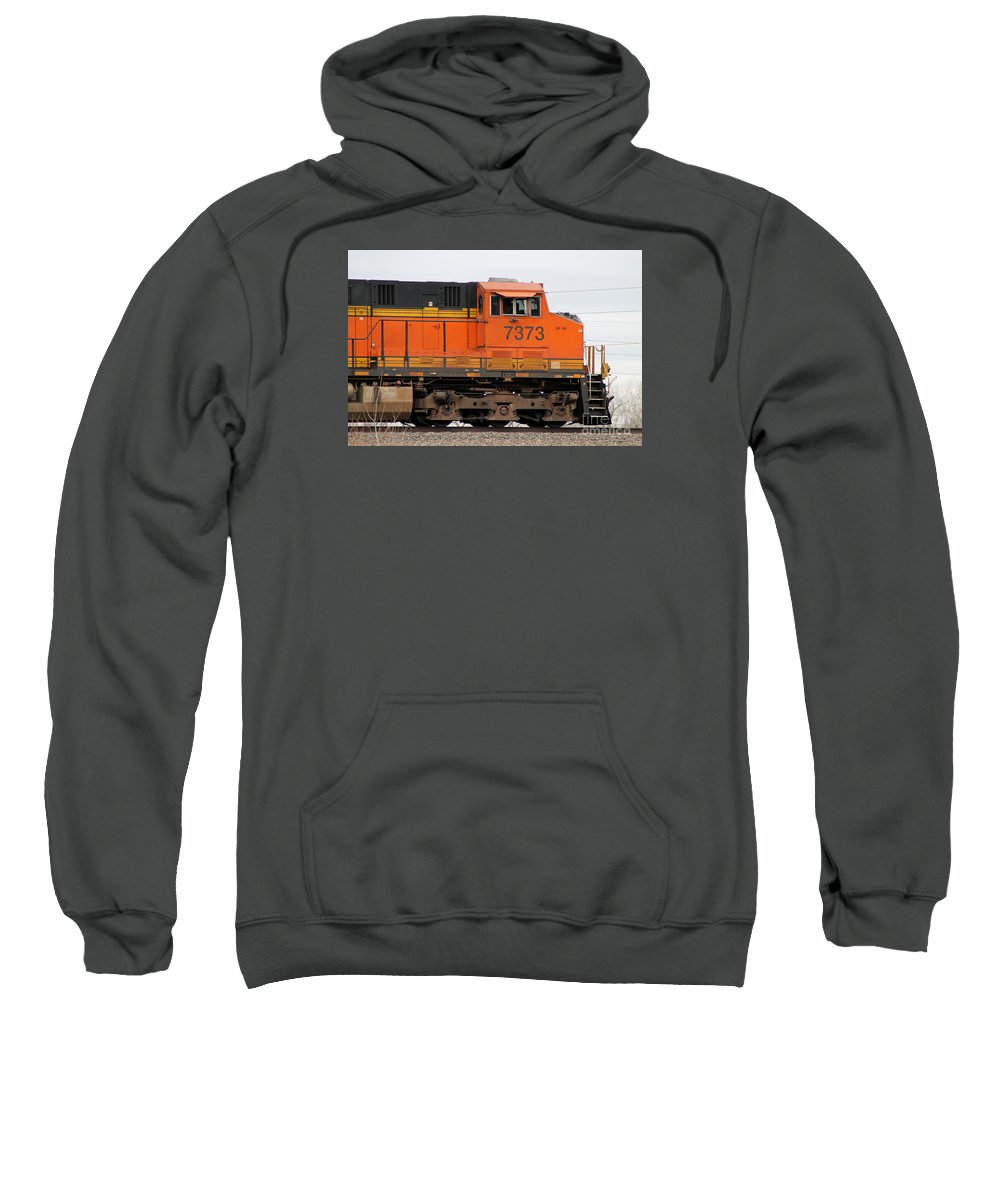 Train Sweatshirt featuring the photograph Train by Vivian Bound