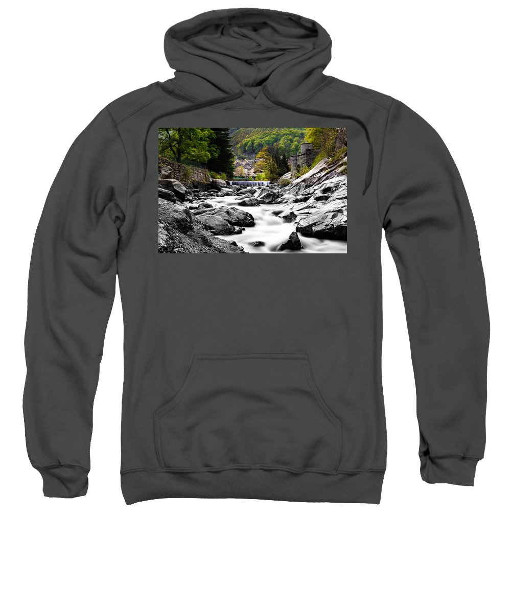 Landscape Sweatshirt featuring the photograph Transition by Lukasz Jarocki