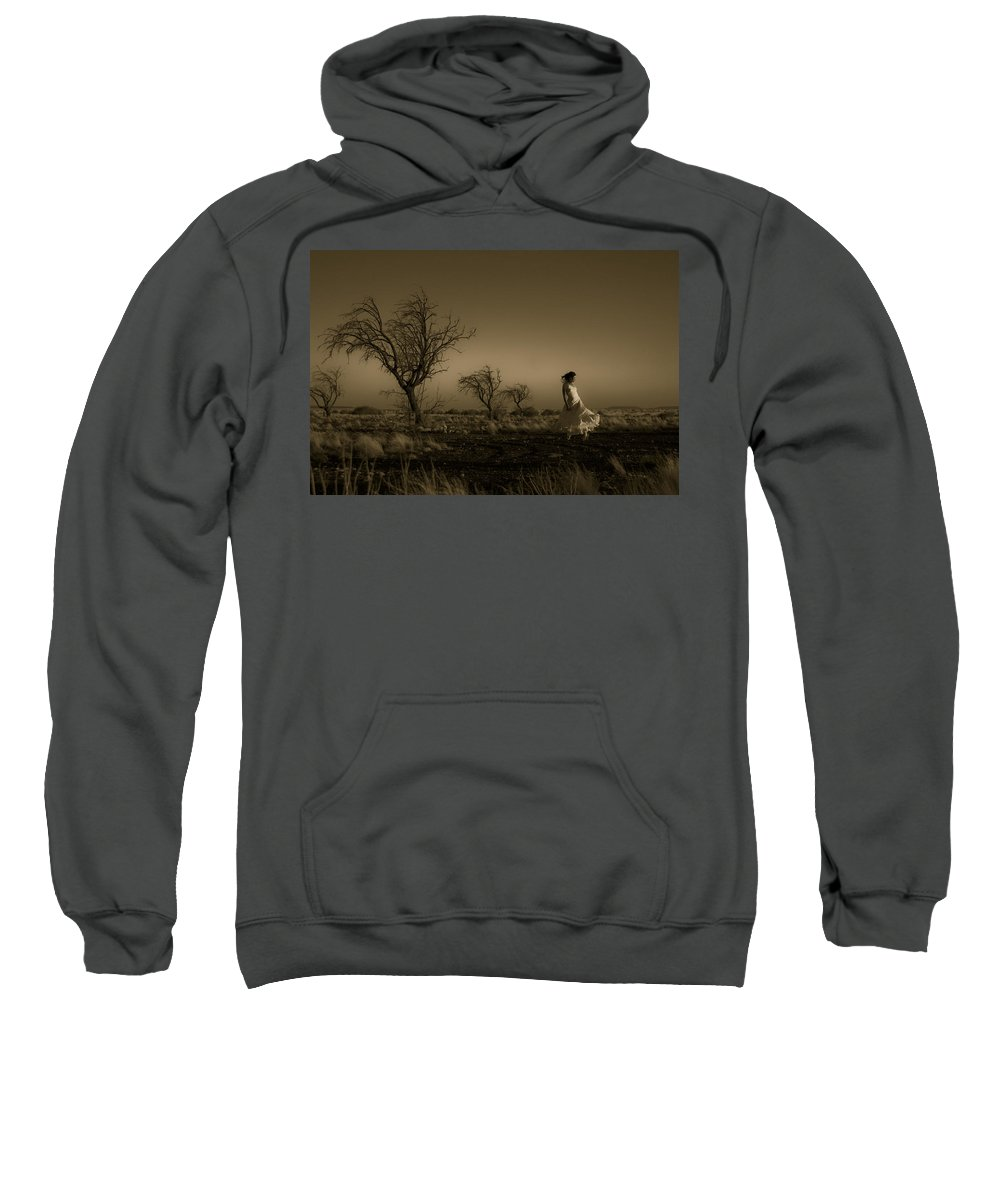 Woman Sweatshirt featuring the photograph Tree Harmony by Scott Sawyer