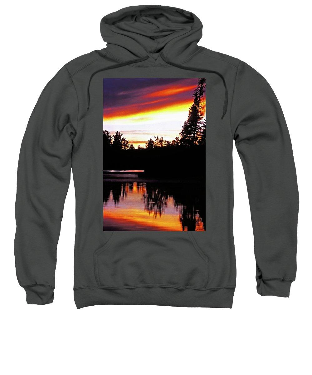 Landscape Sweatshirt featuring the photograph Tripping II by Steve Harrington