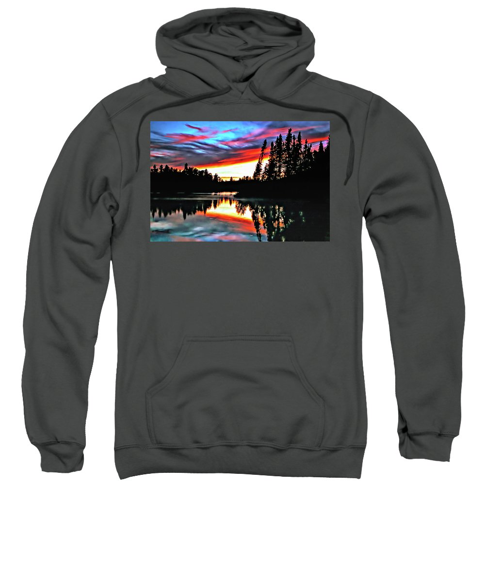 Photo Sweatshirt featuring the photograph Tripping by Steve Harrington