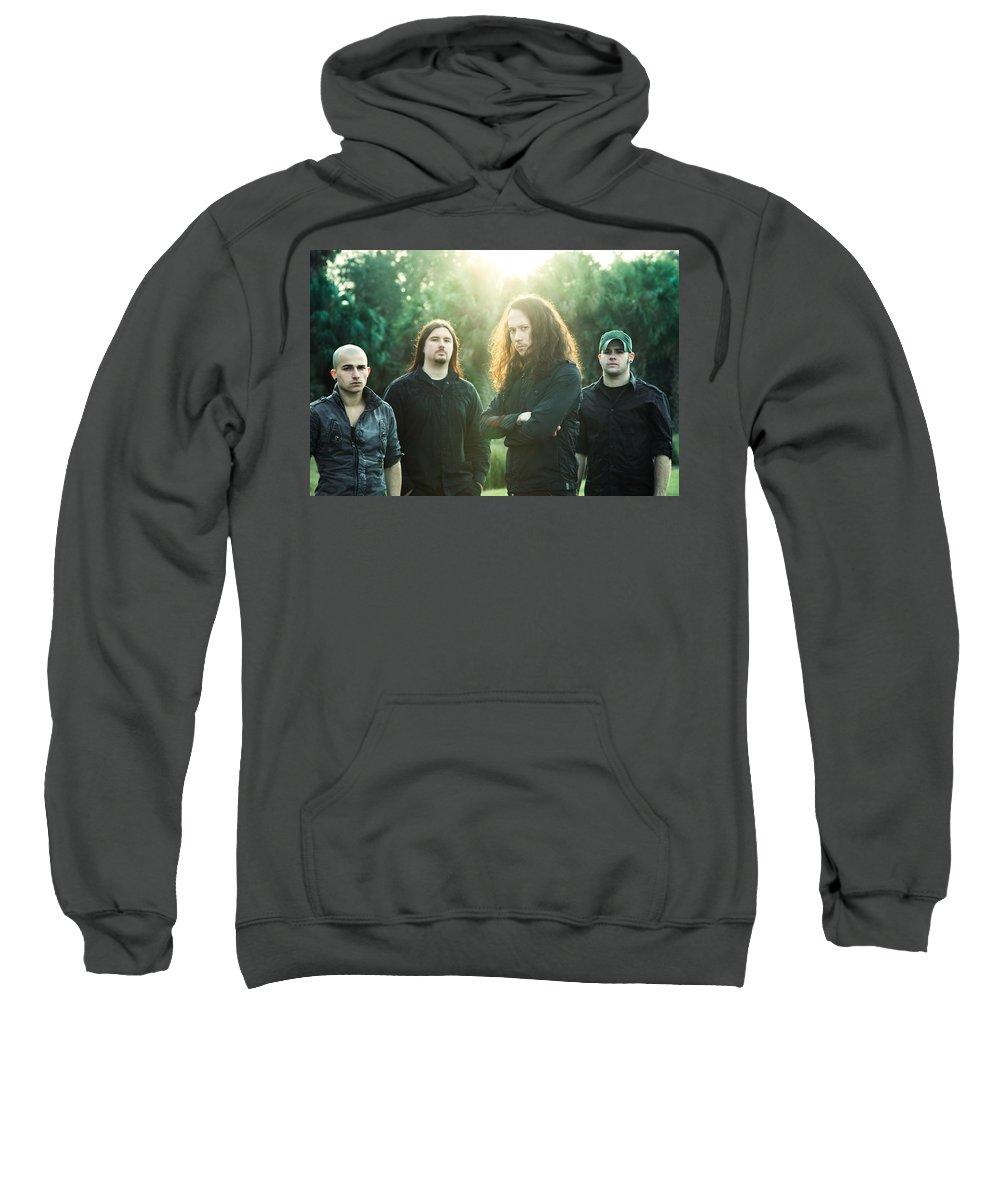 Trivium Sweatshirt featuring the digital art Trivium by Bert Mailer