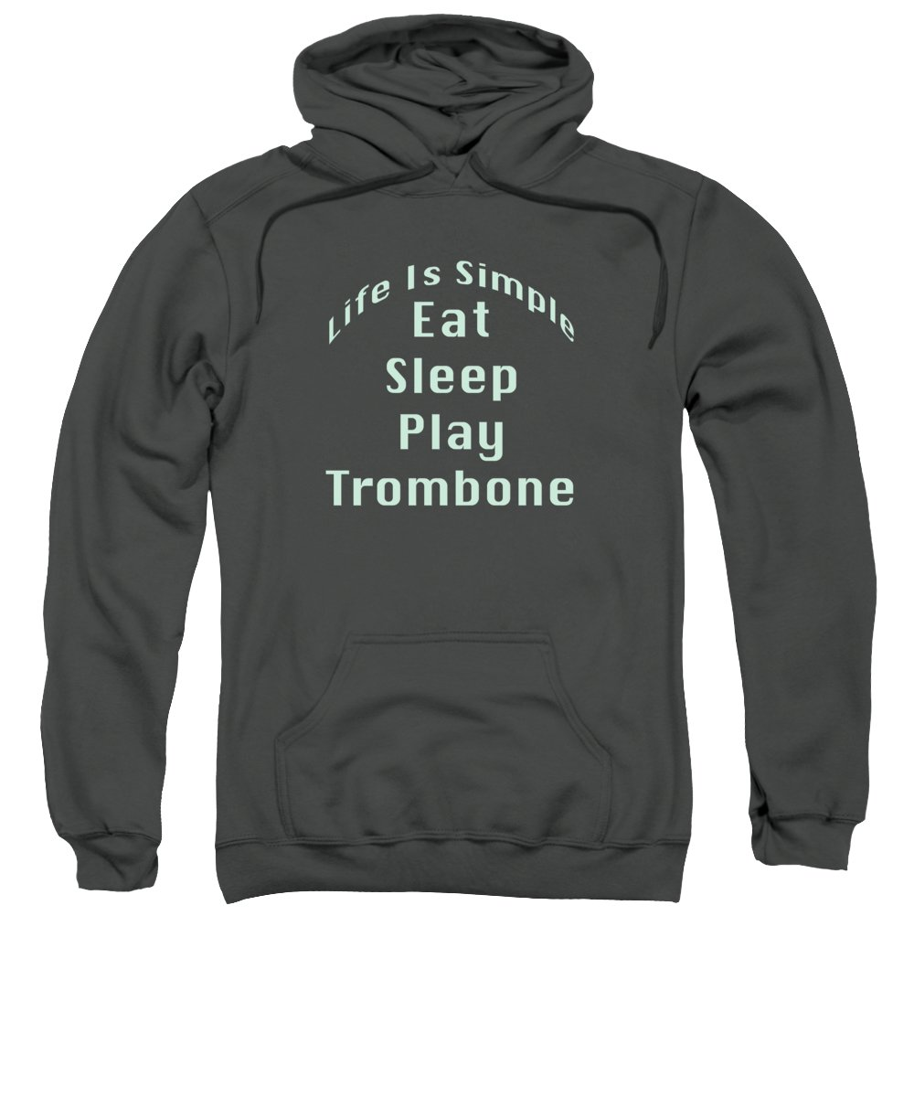 Trombone Hooded Sweatshirts T-Shirts
