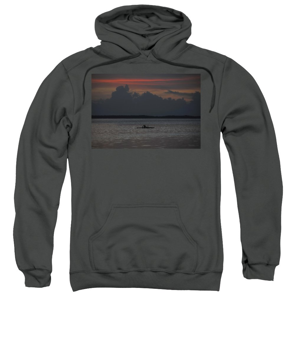 Fishing Sweatshirt featuring the photograph Tropical Adventure by David Lee Thompson