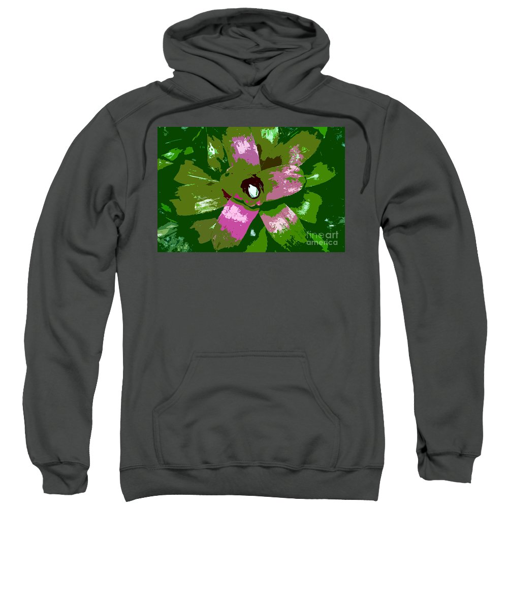 Tropical Sweatshirt featuring the photograph Tropical Plant Work Number 5 by David Lee Thompson