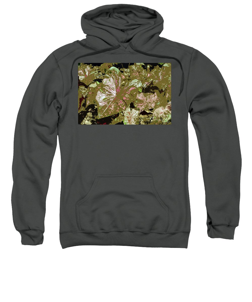 Tropical Sweatshirt featuring the photograph Tropicals by David Lee Thompson