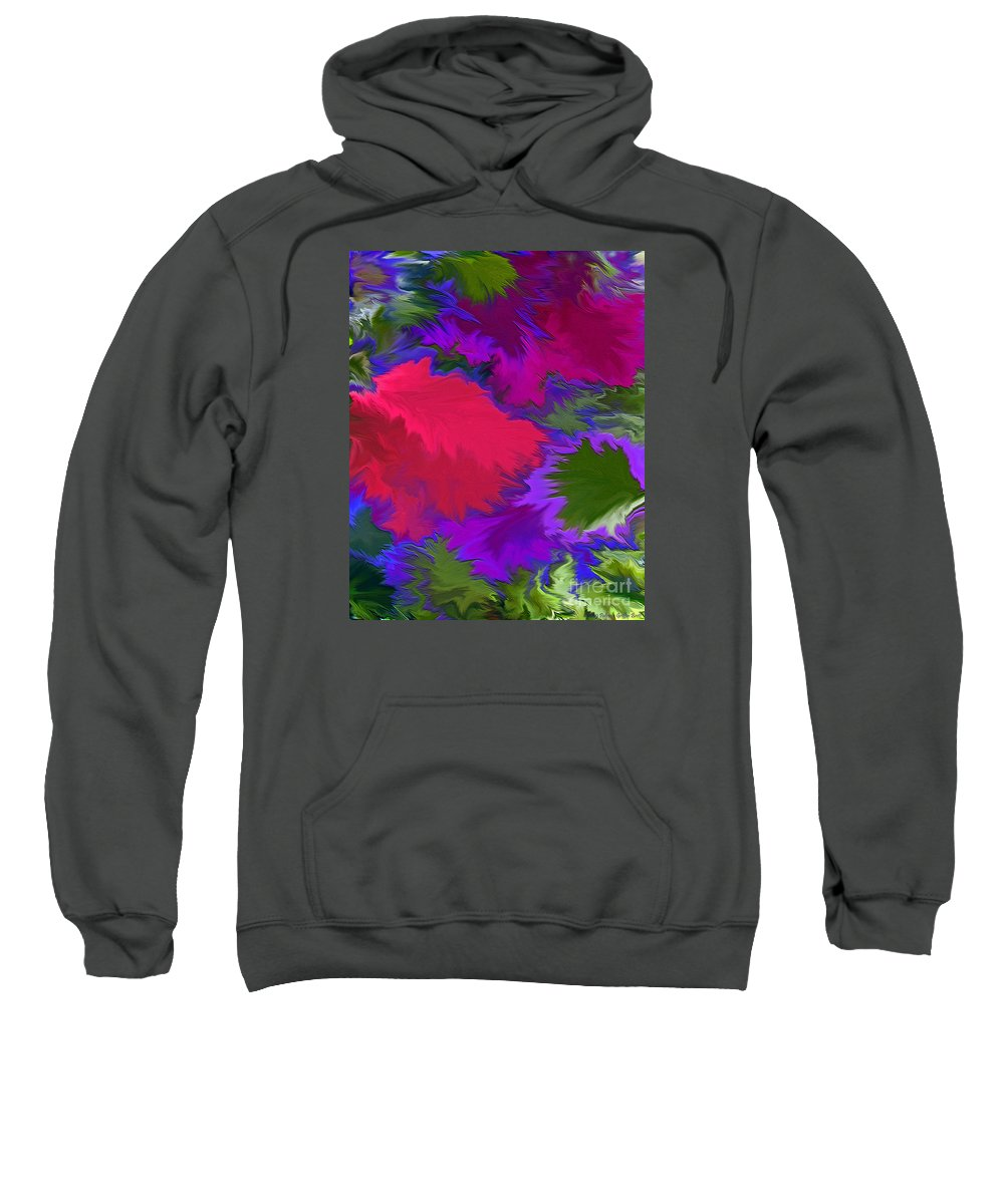 Mixed Media Art Sweatshirt featuring the photograph Tropicana by Patricia Griffin Brett