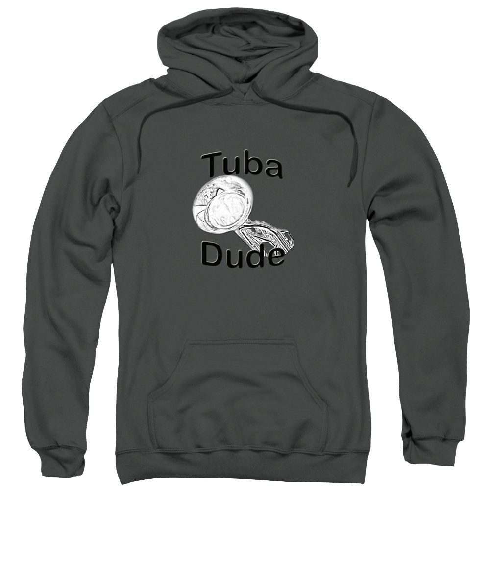 Tuba Hooded Sweatshirts T-Shirts