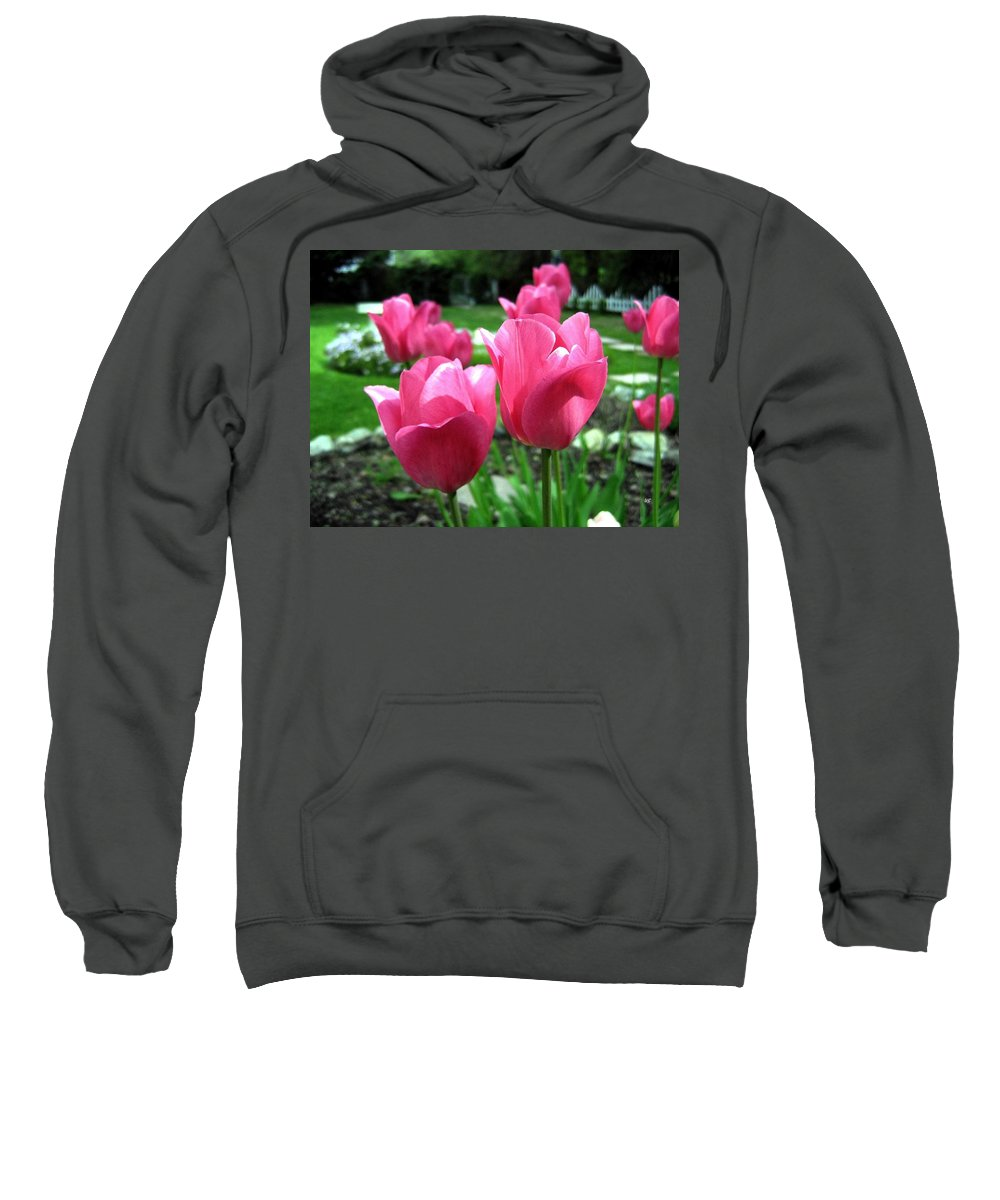 Tulips Sweatshirt featuring the photograph Tulipfest 3 by Will Borden