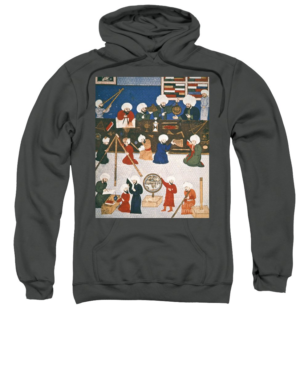 16th Century Sweatshirt featuring the photograph Turkish Astronomers by Granger