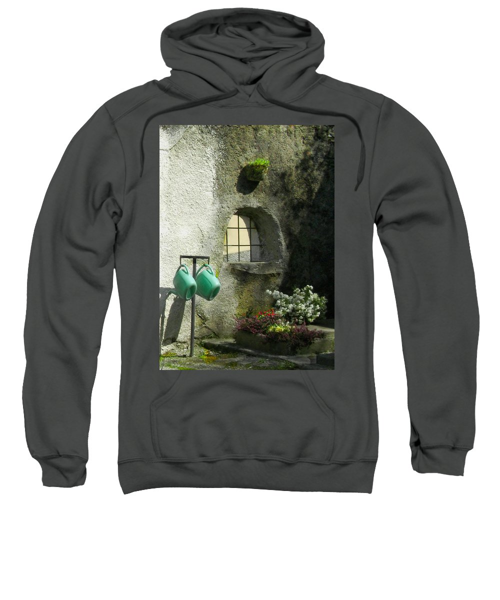 Italy Sweatshirt featuring the photograph Tuscan Afternoon by Lynn Andrews