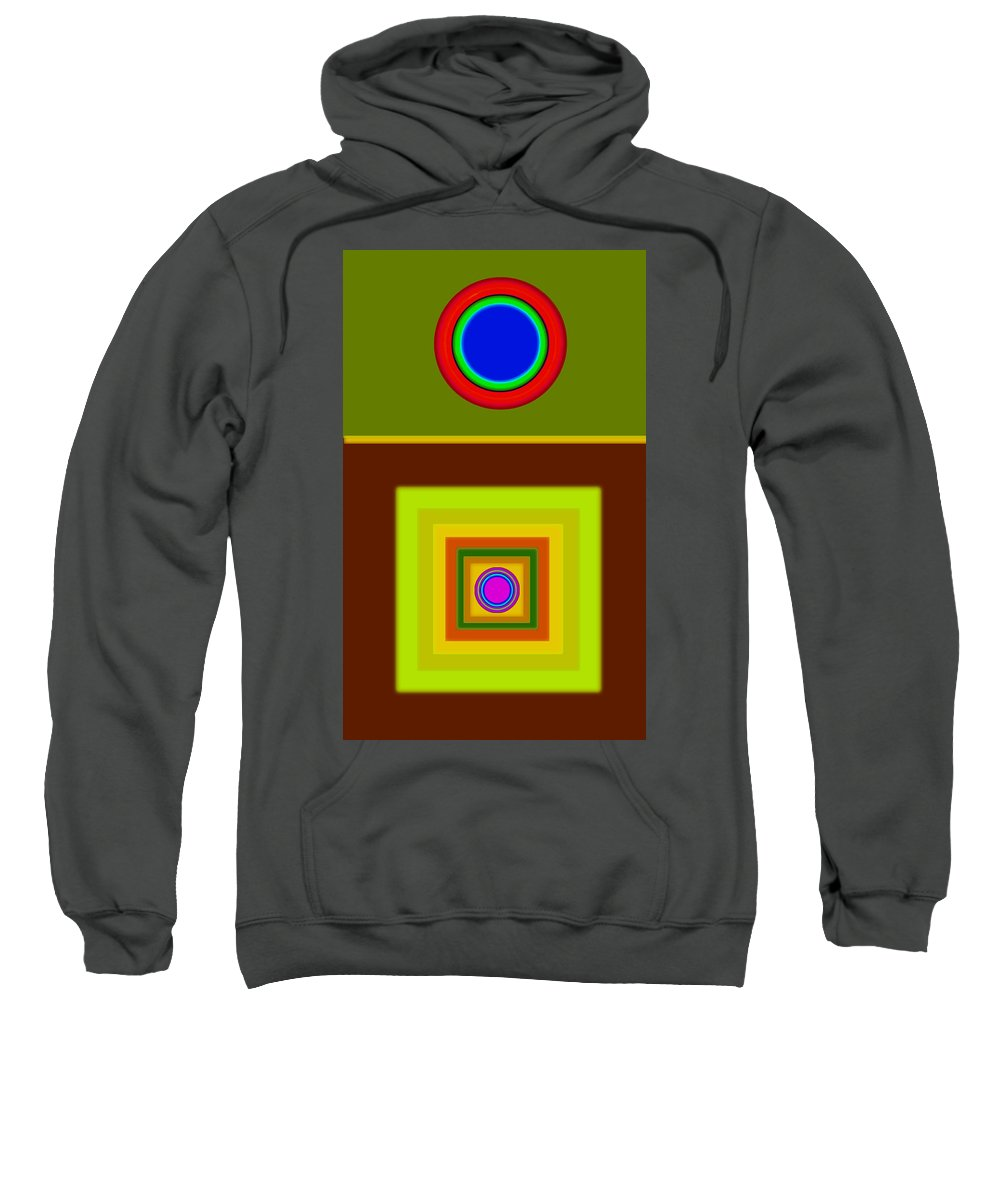 Classical Sweatshirt featuring the digital art Tuscan Sun by Charles Stuart