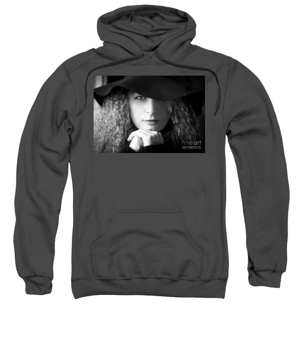 Kremsdorf Sweatshirt featuring the photograph Two Sides To Each Story... by Evelina Kremsdorf