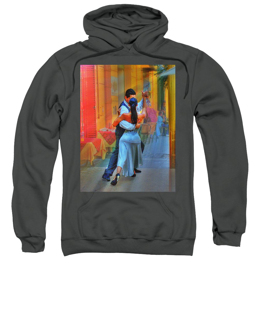 Dance Sweatshirt featuring the photograph Two Tango by Francisco Colon