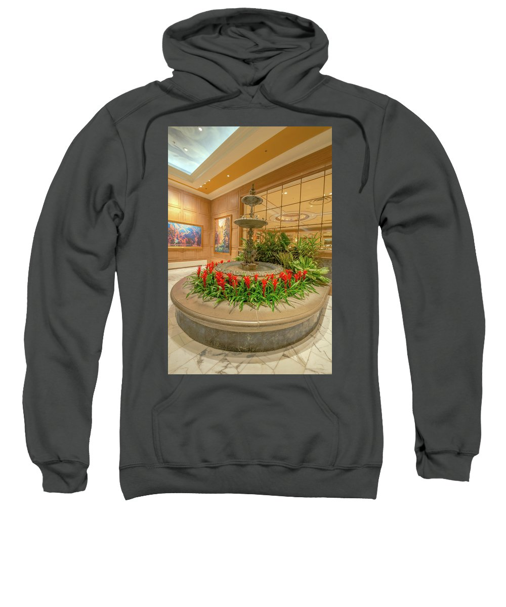 Broadmoor Hotel Sweatshirt featuring the photograph Uncompromising Elegance At The Broadmoor by Bijan Pirnia