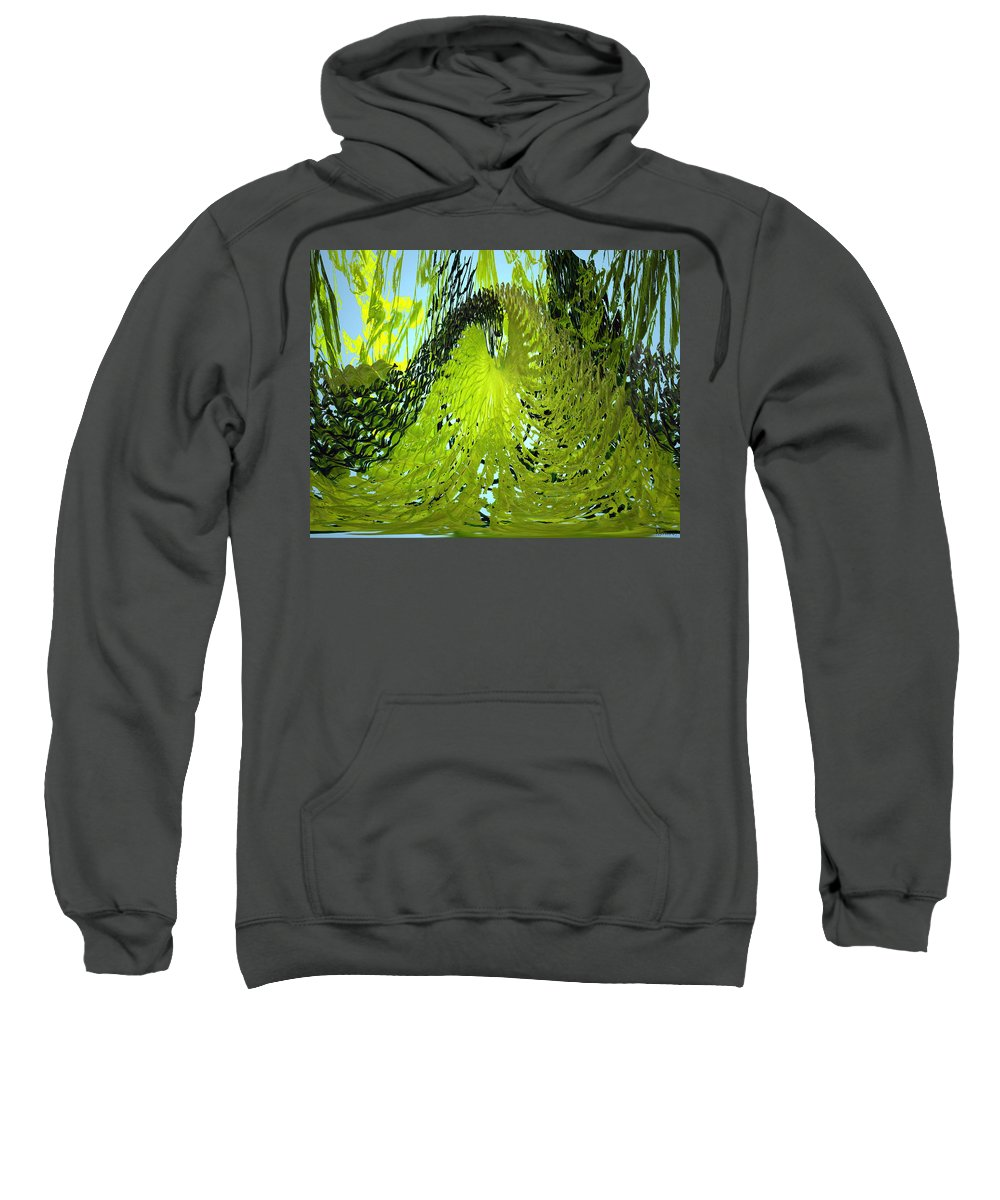Seaweed Sweatshirt featuring the photograph Under Water by Merja Waters