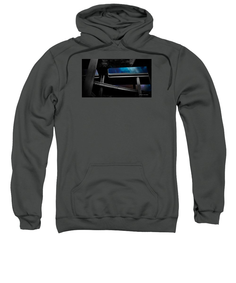 Iphone Cover Sweatshirt featuring the photograph Los Angeles Underpass by Ralph King