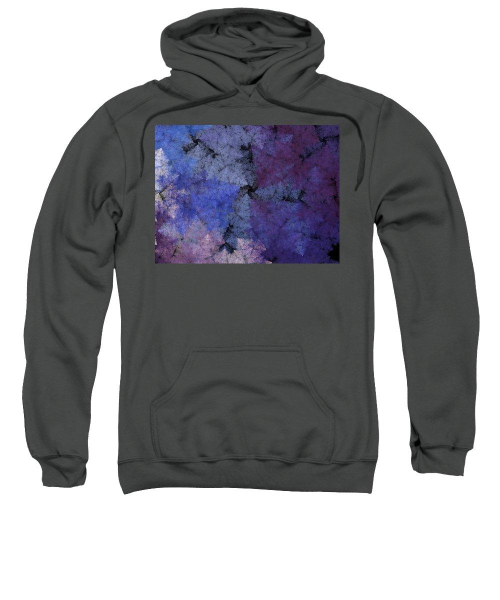 Fantasy Sweatshirt featuring the digital art Untitled 11-29-09 by David Lane