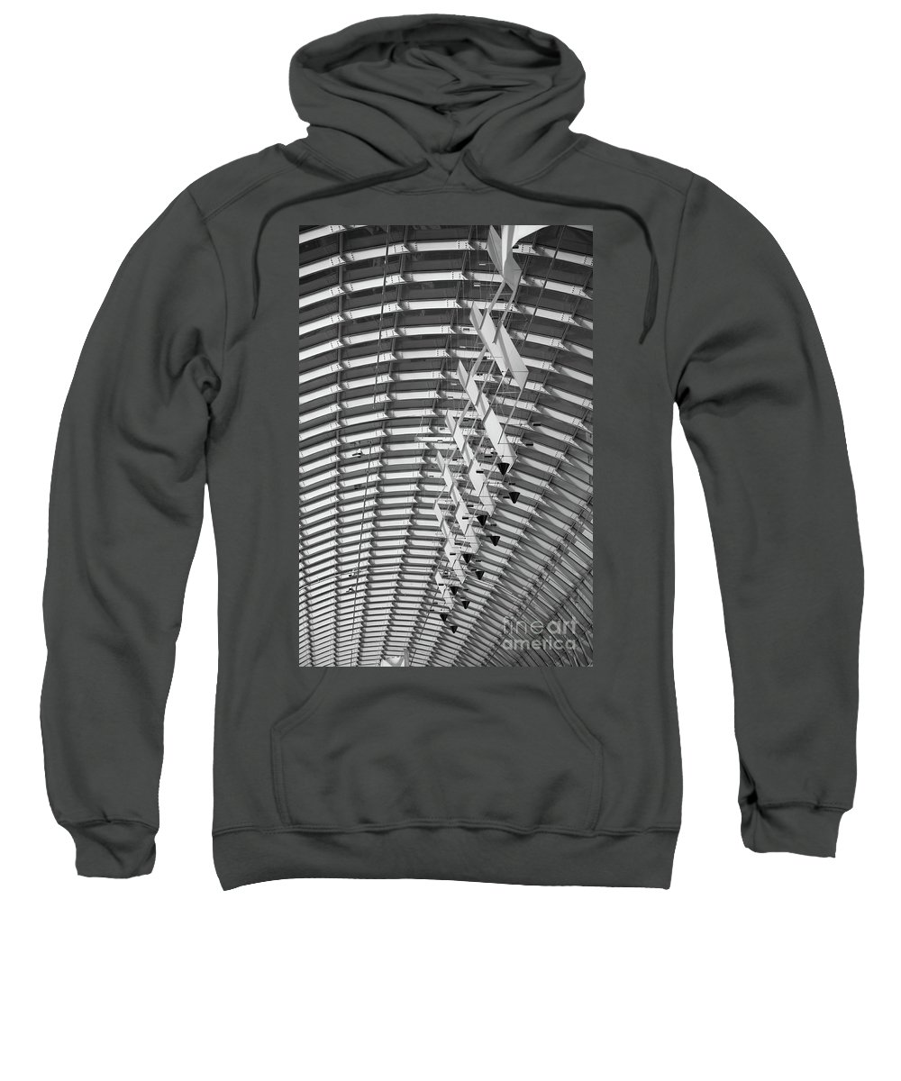 Architecture Sweatshirt featuring the photograph Urban Sociology by Charles Dobbs