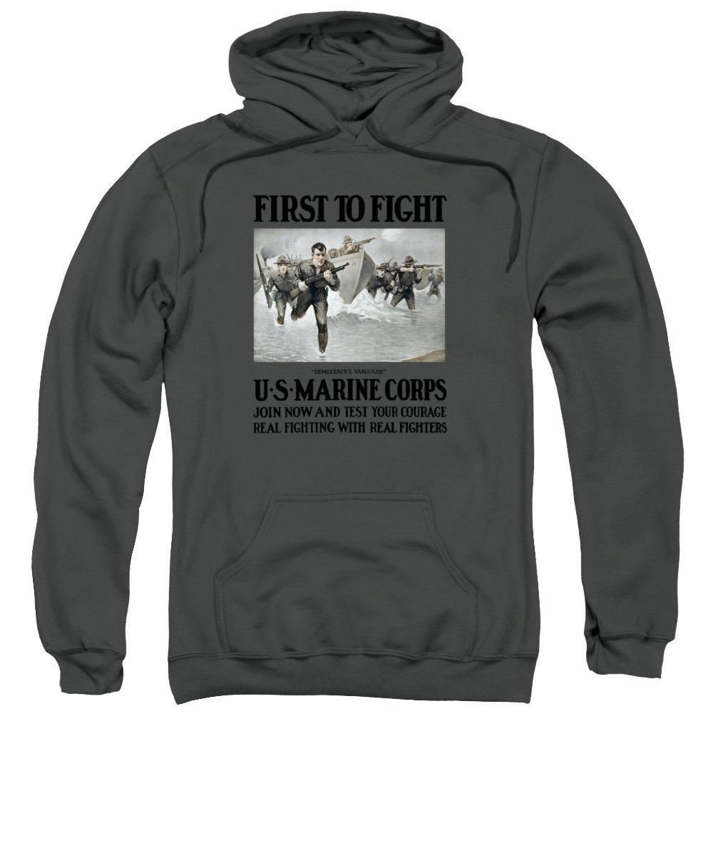 Landing Hooded Sweatshirts T-Shirts