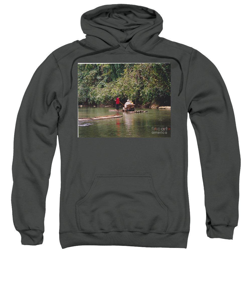 Water Sweatshirt featuring the photograph Vacation Paradise by Michelle Powell