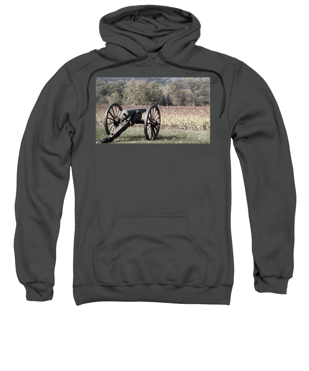 Gettysburg Sweatshirt featuring the photograph Valley Of Death by Richard Rizzo