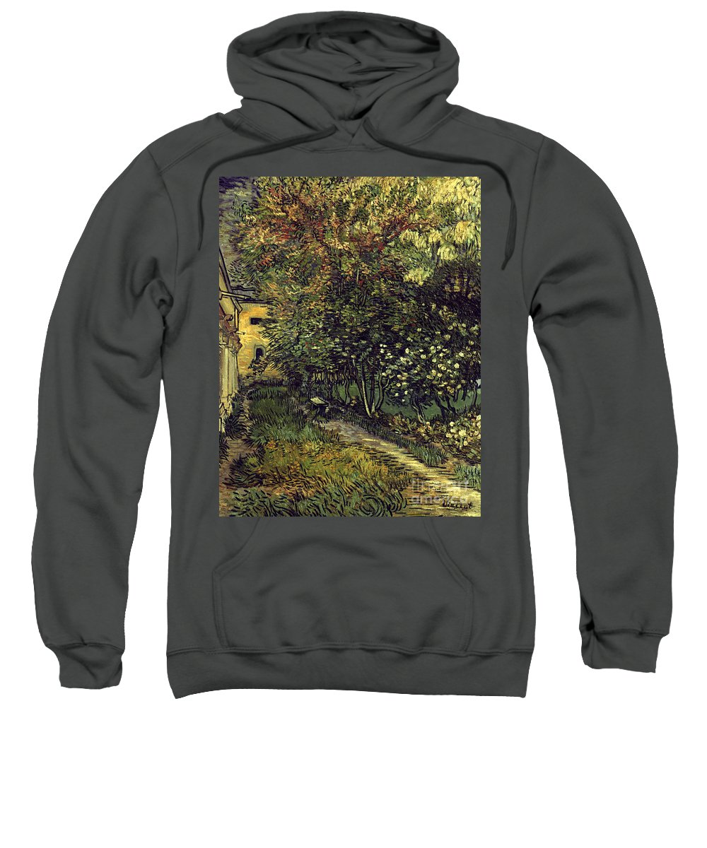 1889 Sweatshirt featuring the photograph Van Gogh: Hospital, 1889 by Granger