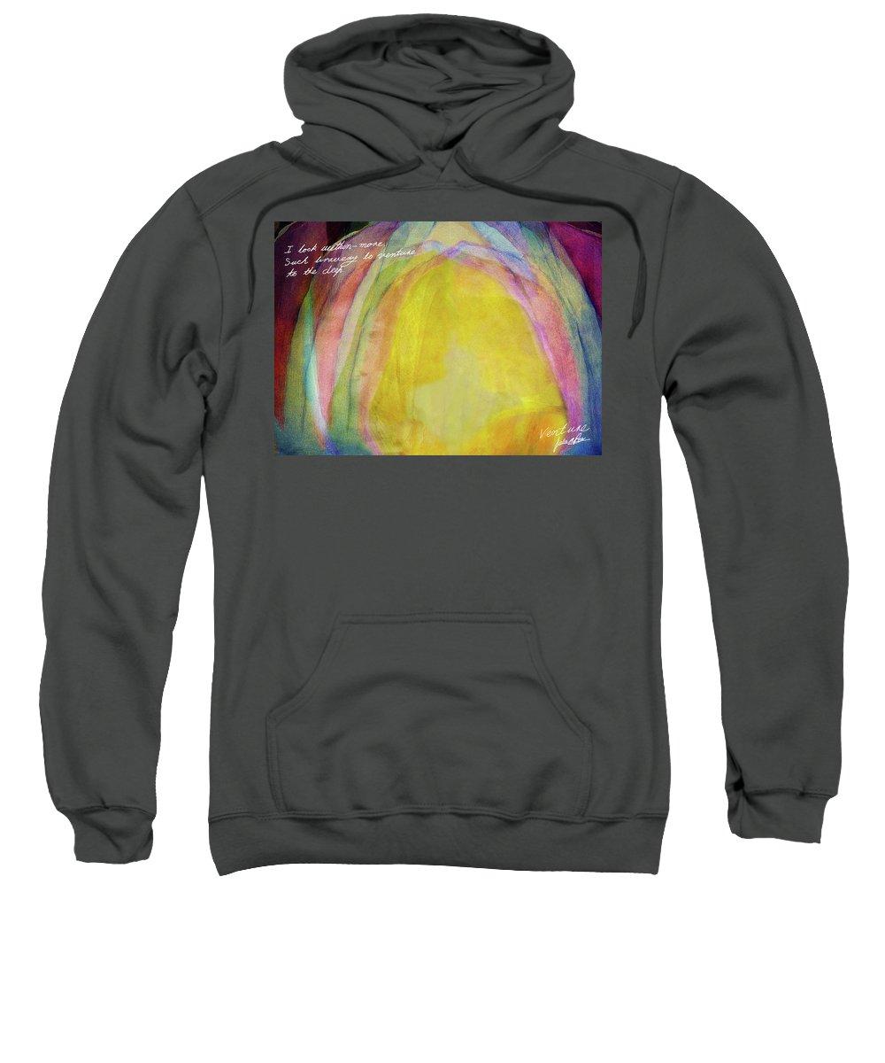 Adventure Sweatshirt featuring the digital art Venture by Julie m Rae