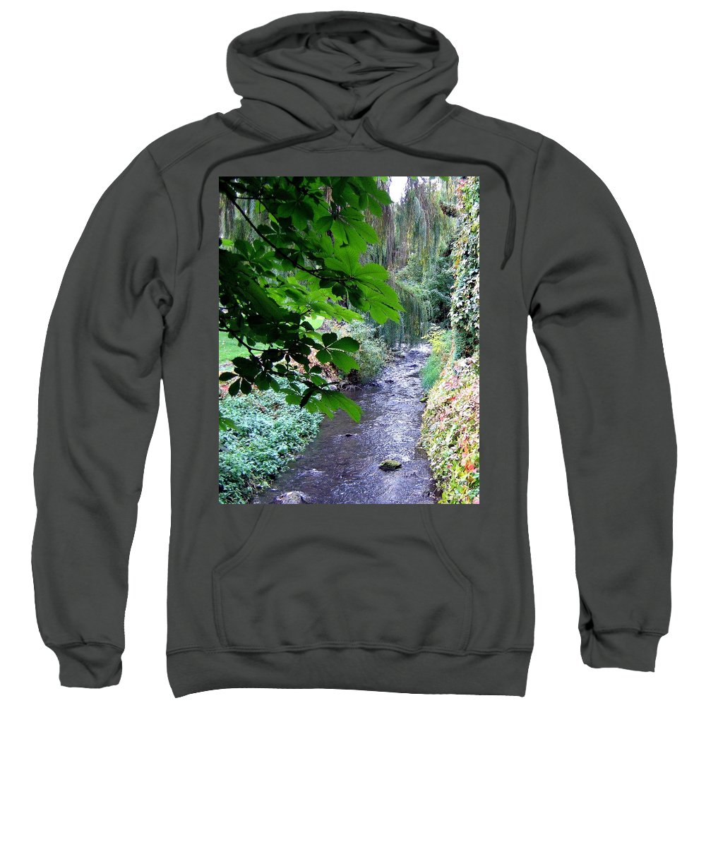 Vernon Creek Sweatshirt featuring the photograph Vernon Creek by Will Borden
