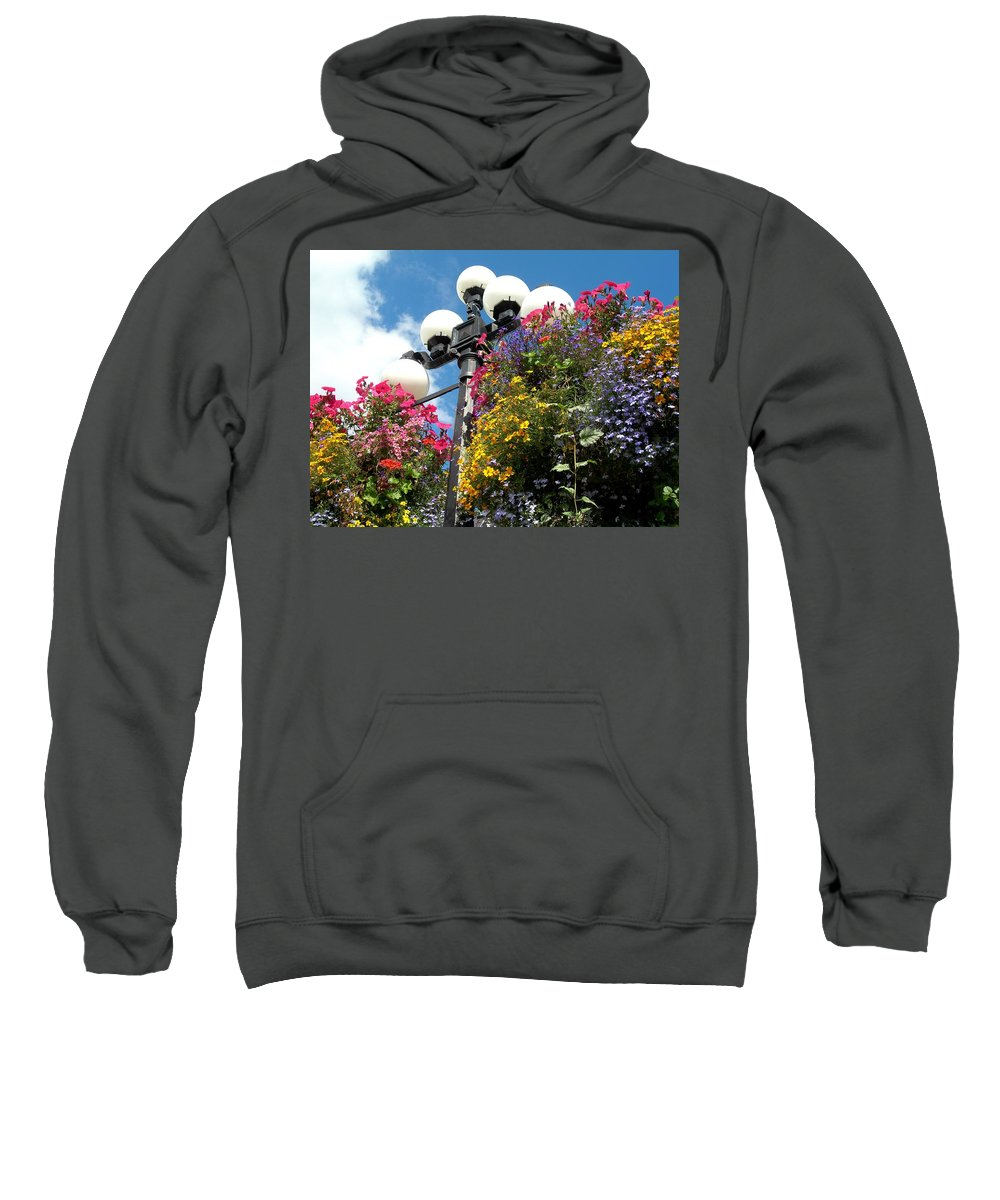 Victoria Sweatshirt featuring the photograph Victoria by Sheryl R Smith
