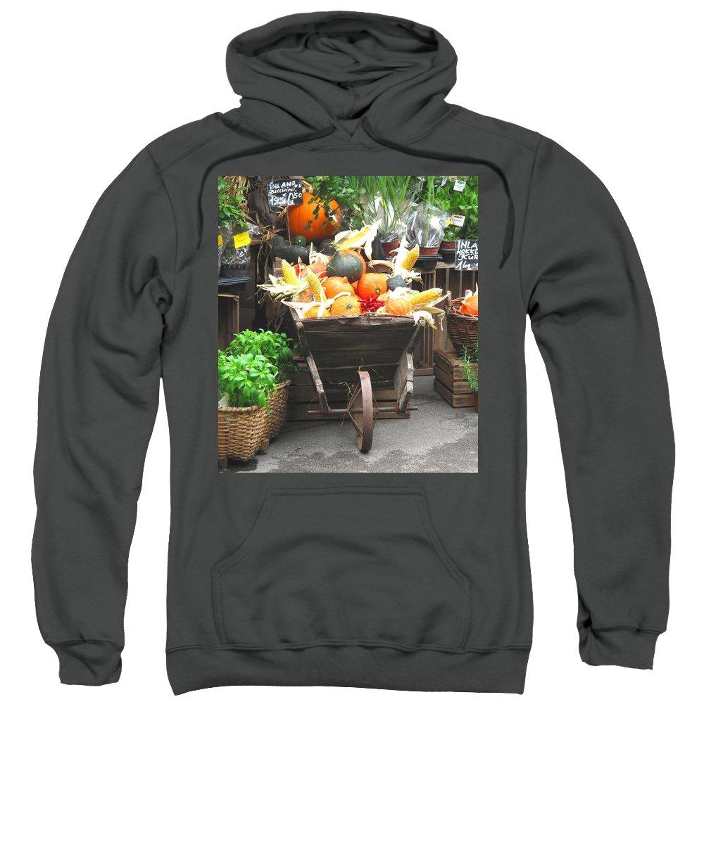 Vienna Sweatshirt featuring the photograph Vienna New Market by Ian MacDonald