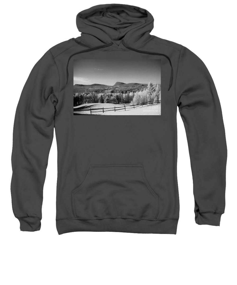 Landscape Sweatshirt featuring the photograph View Of Lake Willoughby by Richard Rizzo