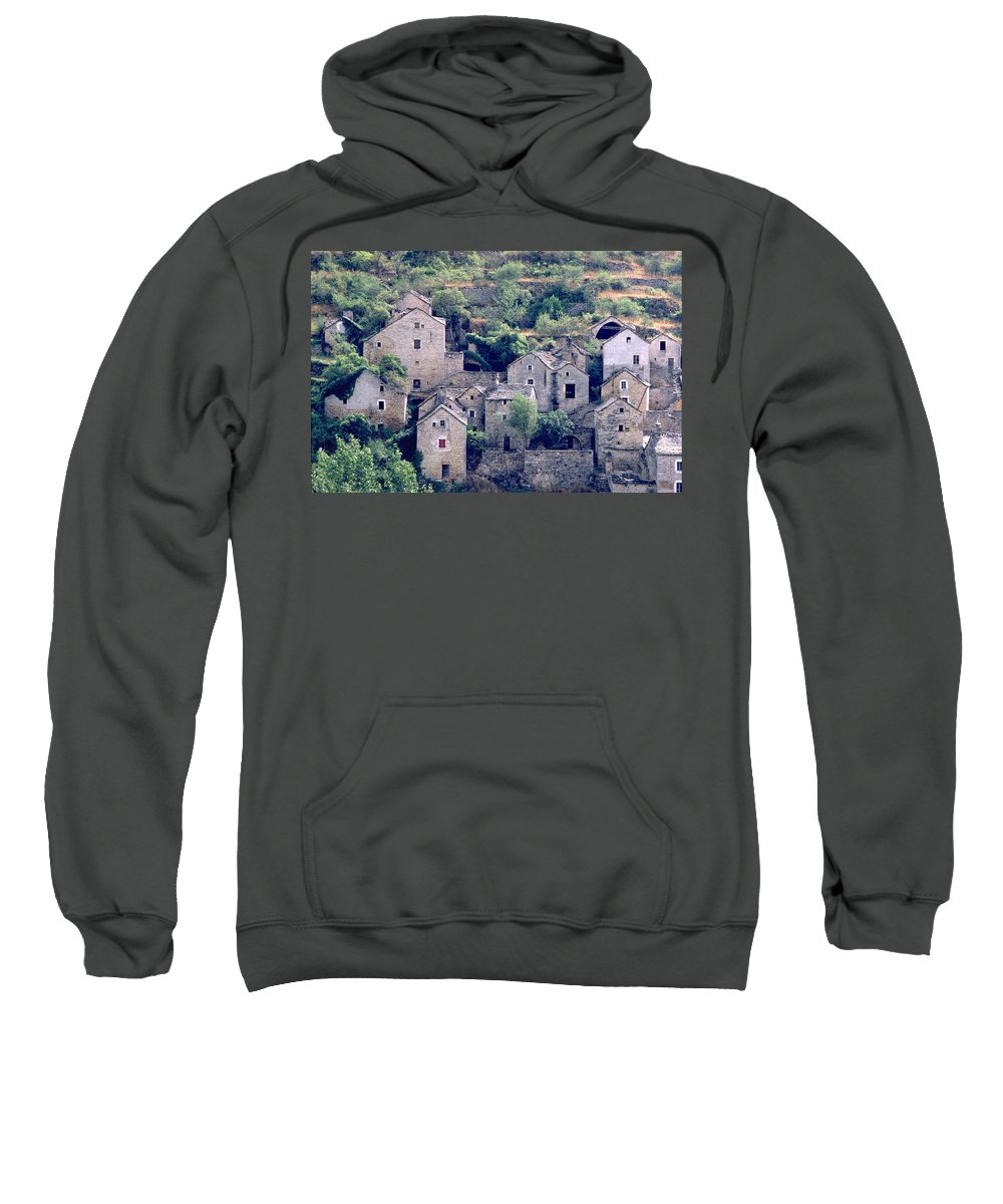 Village Sweatshirt featuring the photograph Village by Flavia Westerwelle