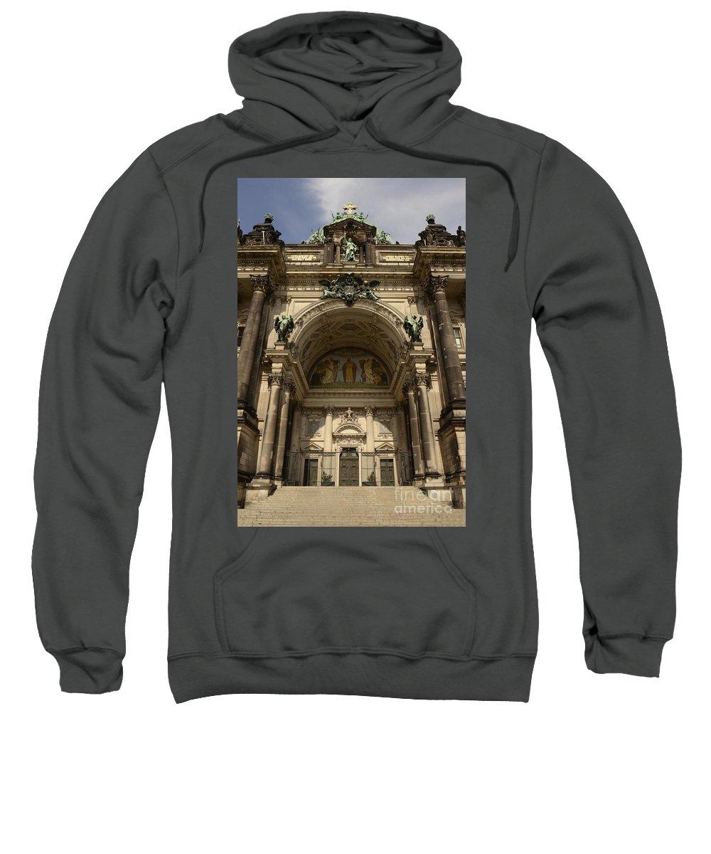 Berlin Sweatshirt featuring the photograph Visiting Berlin by Elaine Berger