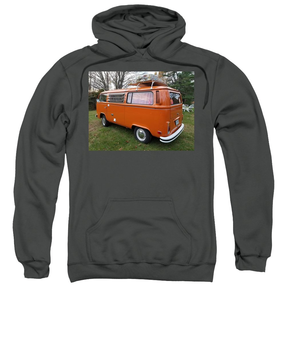 Volkswagen Bus T2 Westfalia Sweatshirt featuring the photograph Volkswagen Bus T2 Westfalia by Mariel Mcmeeking