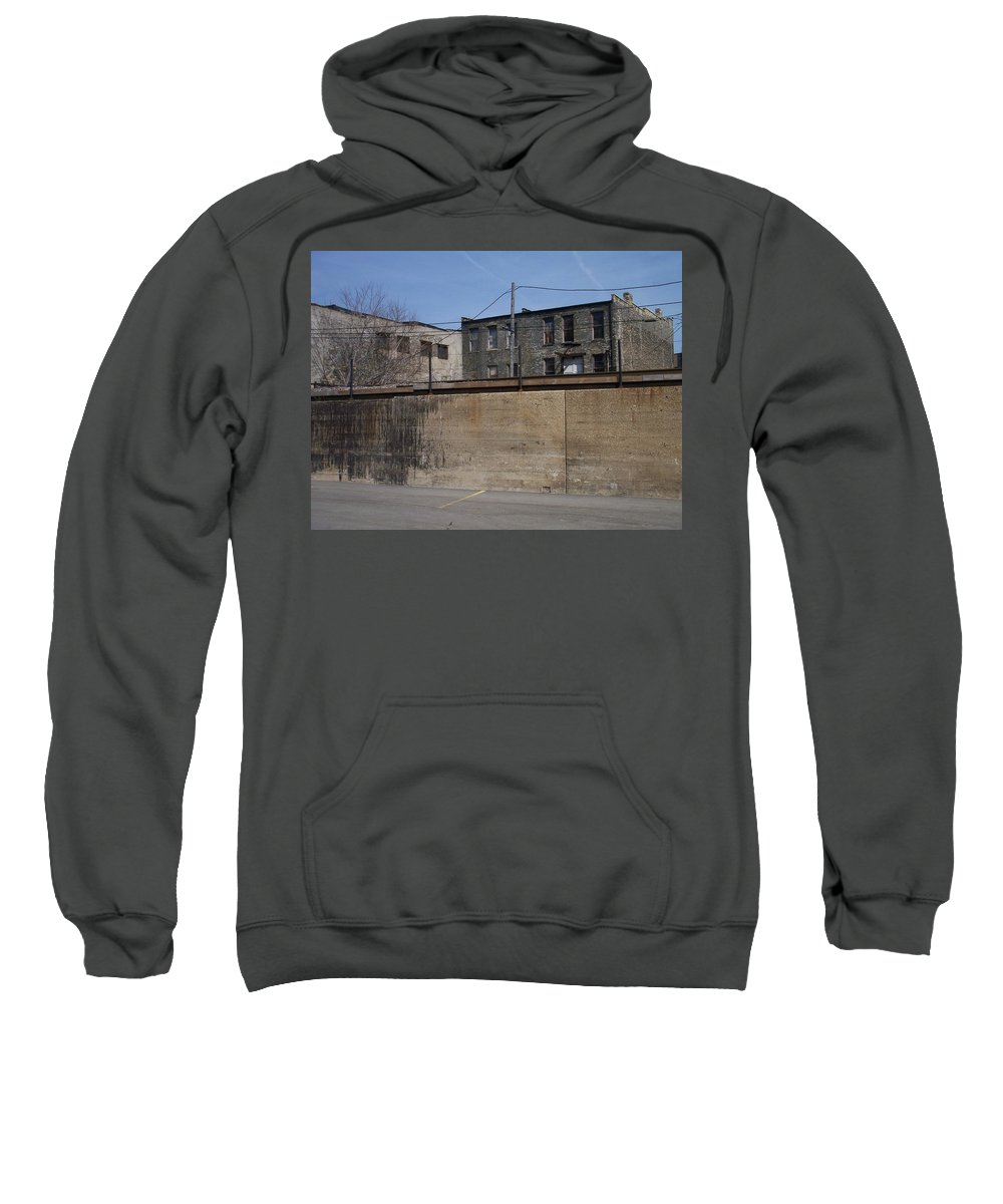 Walker's Point Sweatshirt featuring the photograph Walker's Point 1 by Anita Burgermeister