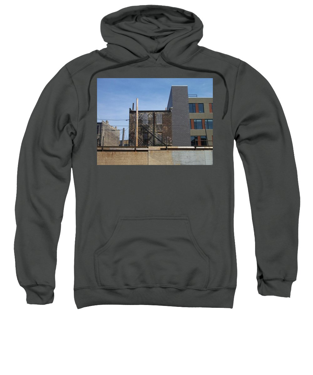 Walker's Point Sweatshirt featuring the photograph Walker's Point 2 by Anita Burgermeister