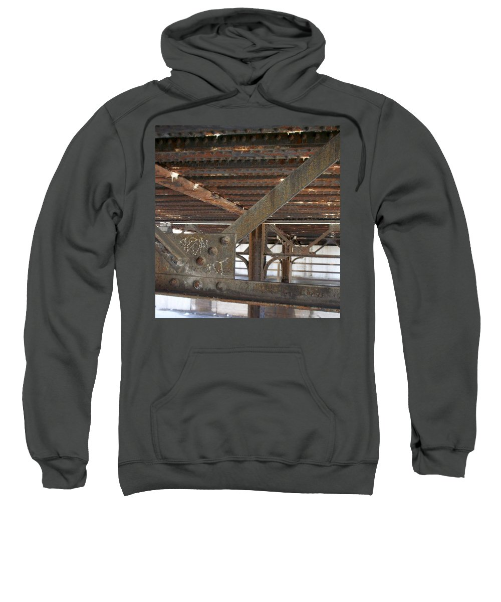 Walker's Point Sweatshirt featuring the photograph Walker's Point 6 by Anita Burgermeister