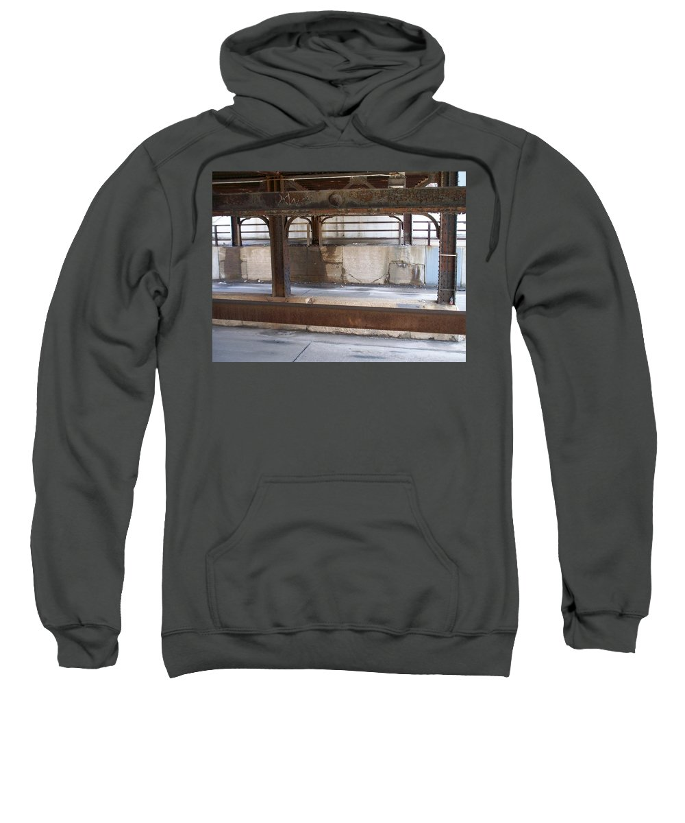Walker's Point Sweatshirt featuring the photograph Walker's Point 7 by Anita Burgermeister