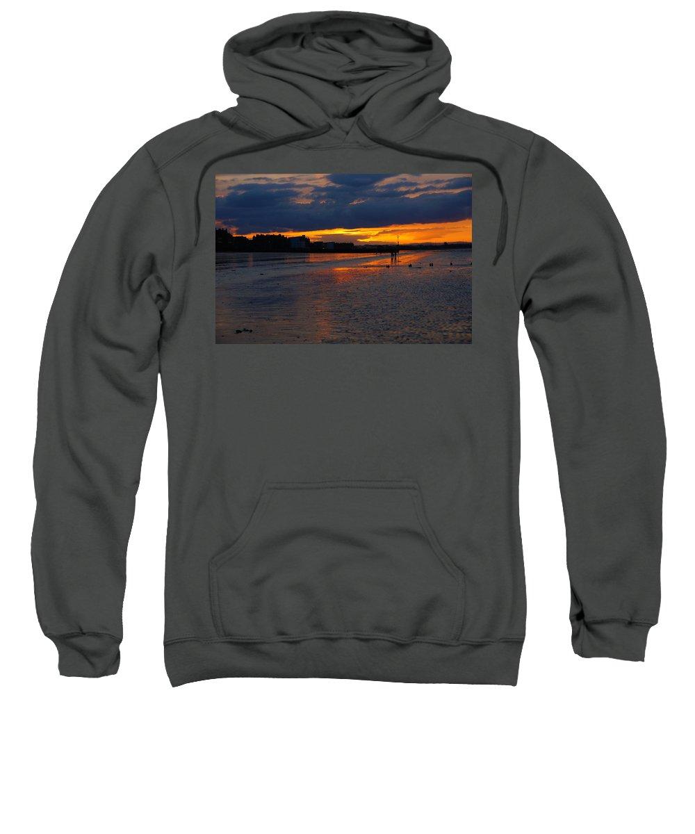 Nik Watt Sweatshirt featuring the photograph Walking In The Sun by Nik Watt