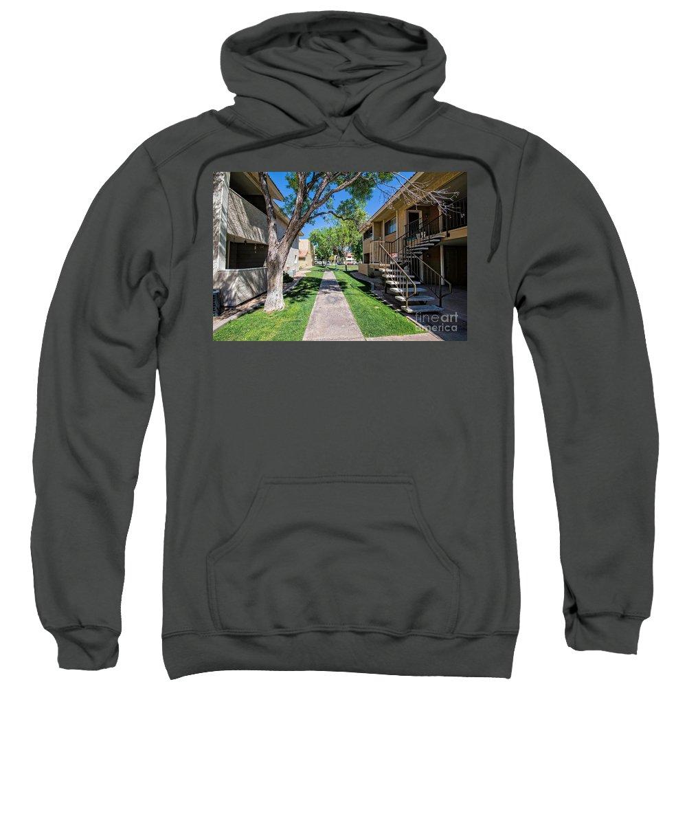 Walkway Sweatshirt featuring the photograph Walkway by Mia Washington
