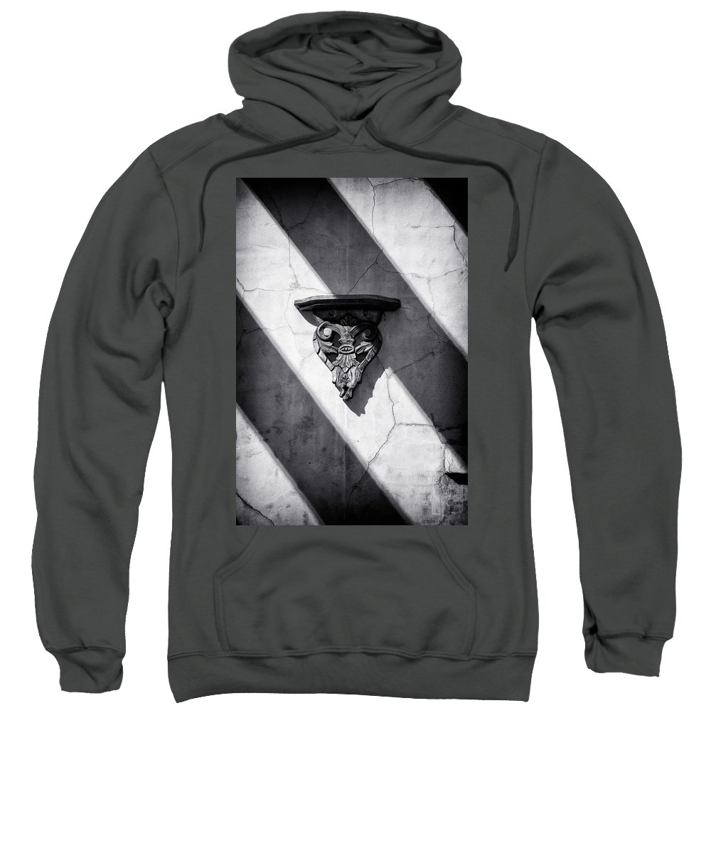 Architecture Sweatshirt featuring the photograph Wall Sconce by Scott Wyatt